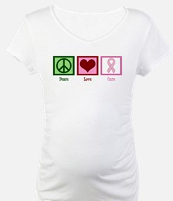 Peace Love Cure (pink) Shirt