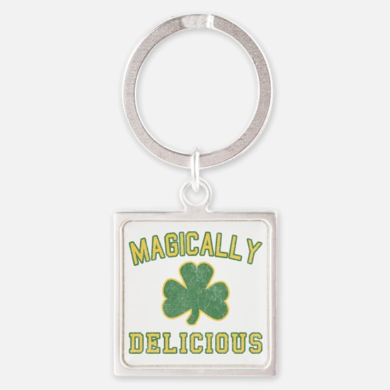 magiclly_delicious-vintage Square Keychain