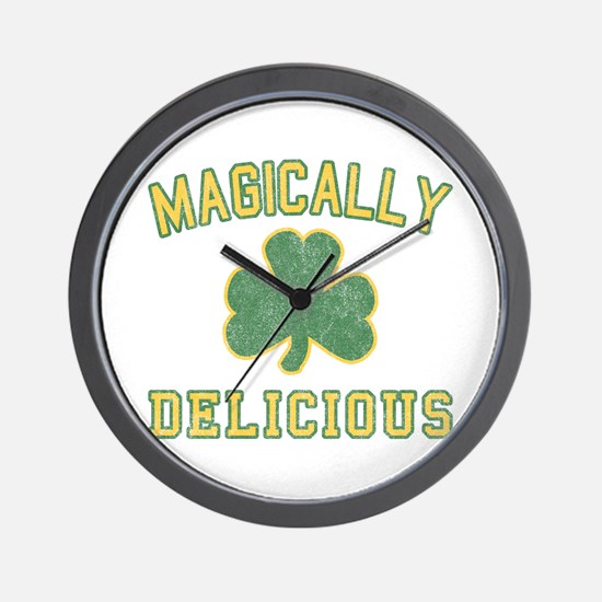 magiclly_delicious-vintage Wall Clock