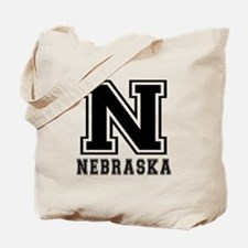 Nebraska State Designs Tote Bag