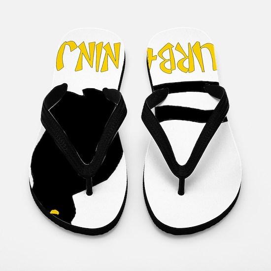 Urban Ninja Flip Flops