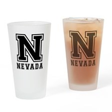 Nevada State Designs Drinking Glass