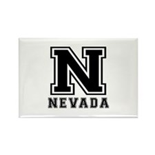 Nevada State Designs Rectangle Magnet