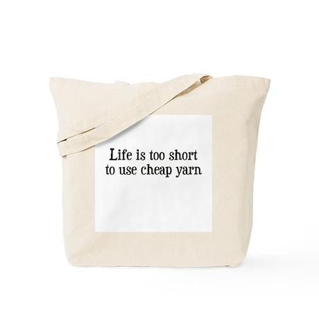 Cheap Yarn Tote Bag