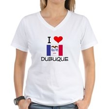 I Love Dubuque Iowa T-Shirt