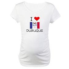 I Love Dubuque Iowa Shirt