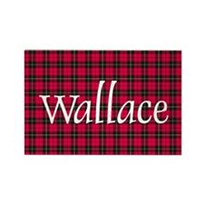 Tartan - Wallace Rectangle Magnet