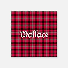 """Tartan - Wallace Square Sticker 3"""" x 3"""""""