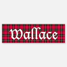 Tartan - Wallace Bumper Bumper Sticker