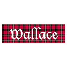 Tartan - Wallace Bumper Sticker
