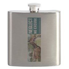 Horse Neglect - No Excuse. Flask