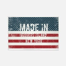 Made in Fishers Island, New York Magnets