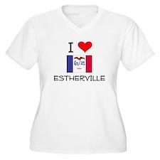 I Love Estherville Iowa Plus Size T-Shirt