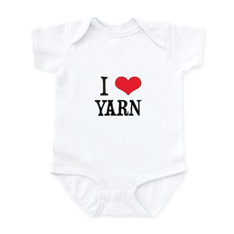 I Love Yarn Infant Bodysuit