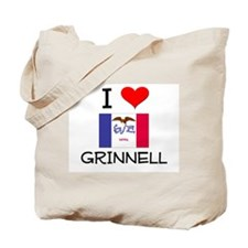 I Love Grinnell Iowa Tote Bag