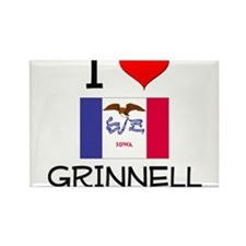I Love Grinnell Iowa Magnets
