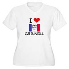 I Love Grinnell Iowa Plus Size T-Shirt