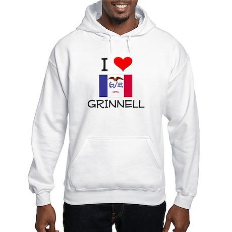 I Love Grinnell Iowa Hoodie