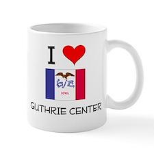 I Love Guthrie Center Iowa Mugs