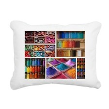 Boxful of Colors Rectangular Canvas Pillow