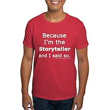 Storyteller Red/Dark Red T-Shirt