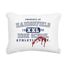 3-haddonfield_highschool Rectangular Canvas Pillow