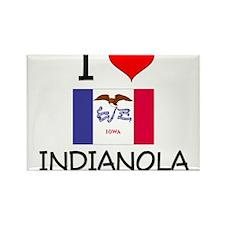 I Love Indianola Iowa Magnets