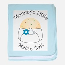 Mommy's Little Matzo Ball baby blanket