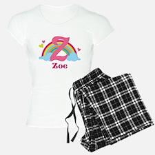Personalized Z Monogram Pajamas