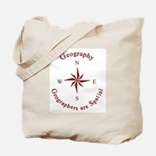 Geographers are Spatial Tote Bag