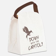 Hunger Games Down With the Capito Canvas Lunch Bag