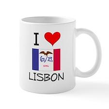 I Love Lisbon Iowa Mugs