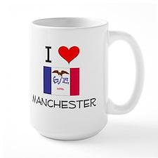 I Love Manchester Iowa Mugs