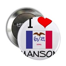 "I Love Manson Iowa 2.25"" Button"