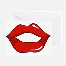 Hot Lips 2 Greeting Card