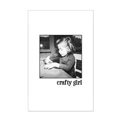 Crafty Girl Posters