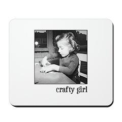 Crafty Girl Mousepad