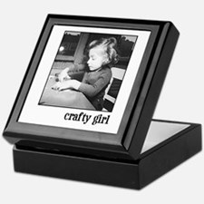 Crafty Girl Keepsake Box