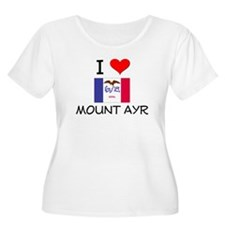 I Love Mount Ayr Iowa Plus Size T-Shirt