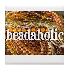 Beadaholic Tile Coaster