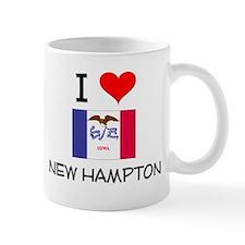 I Love New Hampton Iowa Mugs