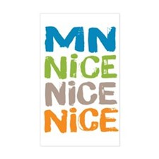 Minnesota Nice Nice Nice Decal