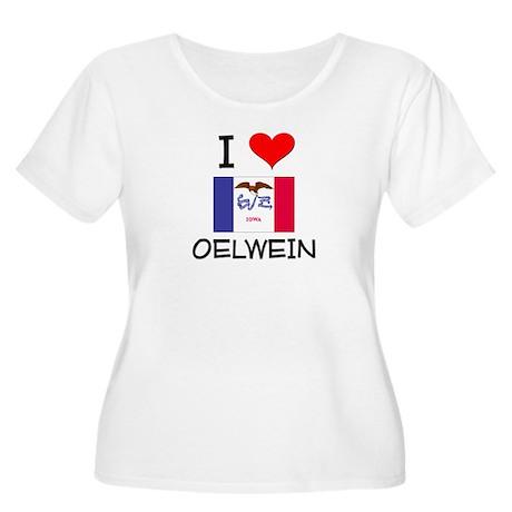 I Love Oelwein Iowa Plus Size T-Shirt