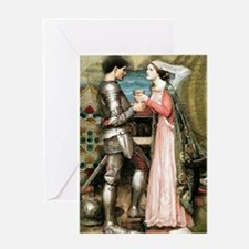 Tristan and Isolde Greeting Cards