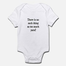 Too Much Yarn Infant Bodysuit