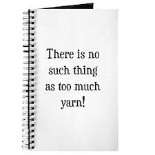 Too Much Yarn Journal