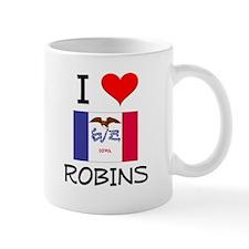 I Love Robins Iowa Mugs