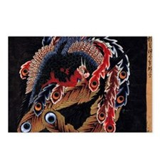 temple Ceiling Art By Hok Postcards (Package of 8)