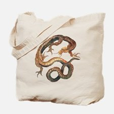 Japanese Dragon by Hokusai Tote Bag
