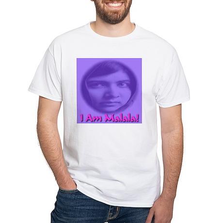 I Am Malala White T-Shirt